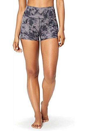 CORE Women's High Waist Yoga Shorts, ( / tie dye)